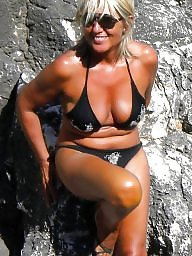 Mature bikini, Bikini, Matures