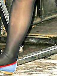 Pantyhose, Tights, Tight, Feet, Stocking feet, Pantyhose feet