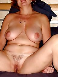 Hairy amateur mature
