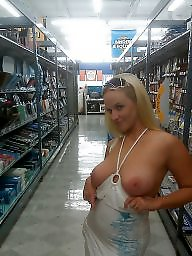 Boobs, Public flashing
