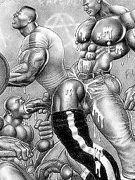 Gay, Cartoons