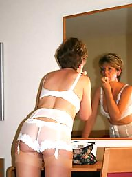 Stocking, Uk mature, Amateur mature