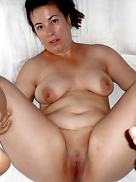 Spreading, Fat, Mom, Mature spreading, Spread, Mature bbw