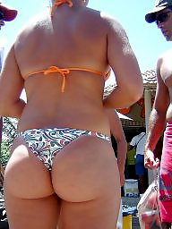 Booty, Thongs, Mature young, Swim, Mature thong, Mature booty