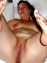 Spreading, Fat, Mom, Mature mom, Mature spreading, Spread