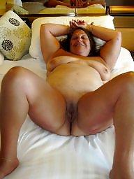 Open, Legs, Ssbbws, White