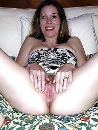 Nude, Milf flashing