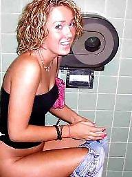 Toilet, Used, Girls, Toilet voyeur