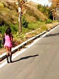 Public, Whore, Street, Italy