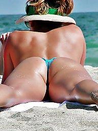 Bikini, Milf, Beach, Milf ass, Beach ass, Bikini milf
