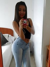Jeans, Tights, Latin teen