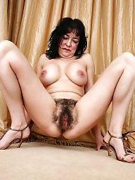 Brunette milf, Milf hairy