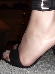 Femdom, Stockings, High heels, Grey, Vintage milf, Tribute