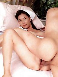Vintage, Nurse, Asian hairy