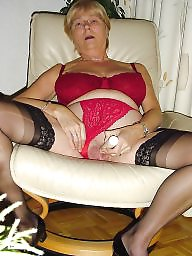 Granny, Nylon, Granny nylon, Nylons, Granny stockings, Granny stocking