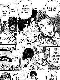 Manga, Twins, Compilation, Twin, Hentai milf
