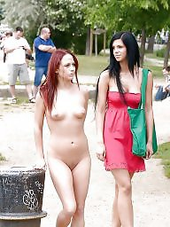 Public teens, Teen public, Public flash