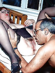 Glasses, Suck, Orgasm, Sucking, Mature with glasses, Mature glasses