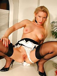 Older, Maid, Nylons, Nylon mature, Older mature, Mature nylon
