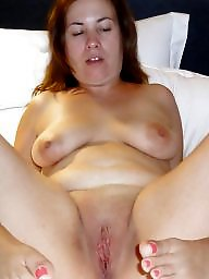 Spreading, Mature spreading, Spread, Chubby, Fat, Mature bbw