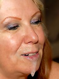 Grannies, Mature facial, Grannis, Oral, Mature blowjob, Granny facial