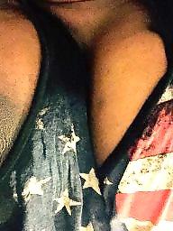 Ebony tits, Ebony amateur, Black tits