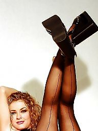 Lady, Lady b, Upskirt stockings, Ladies, Ups, Curly