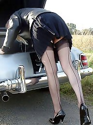 Vintage mature, Matures, Stocking mature, Ladies