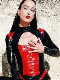 Leather, Latex, Milf leather, Femdom milf