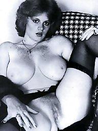 Spreading, Spread, Vintage boobs