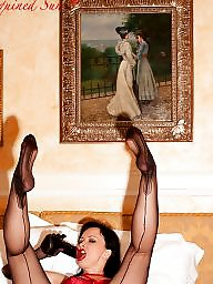 Upskirts, Stocking, Sexy lady