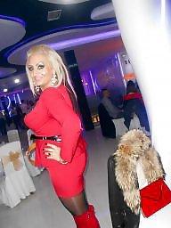 Stocking mature, Serbian, Mature stocking, Serbian mature