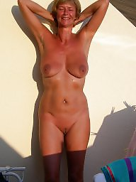 Nudist, Mature big tits, Mature tits, Amateur wife, Mature wife, Nudists