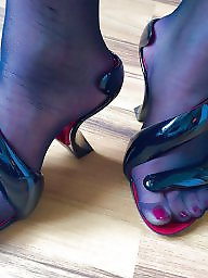 High heels, Bisexual, Stockings heels, High