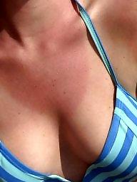 Bikini, Shy, Beach, Bikini beach, Beach babes