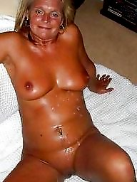 Tanned, Mature slut