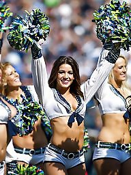 Flashing, Cheerleaders, Cheerleader, American