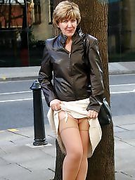 Stockings, Mature stocking, Uk mature, Mature in stockings, Amateur mature, Town