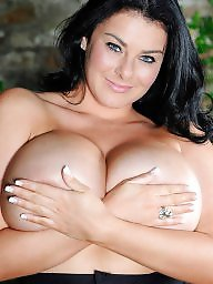 British, Model, Glamour, British big tits, British tits