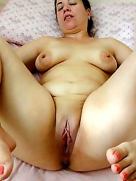 Spreading, Mom, Fat, Spread, Fat mature, Mature bbw