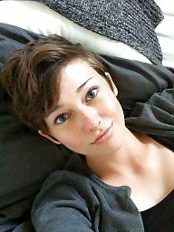 Short hair, Hair, Short, Shorts