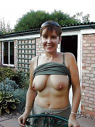 Mature tits, Nipple