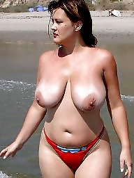 Mature beach, Bunny, Natural tits, Beach mature, Mermaid, Tit mature