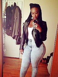 Ebony, Ebony ass