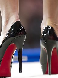 Heels, Lick, Mature heels, Licking, Mature porn
