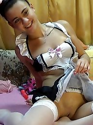 Maid, French, Costume, Upskirt teen, Maids, French maid