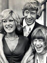 Vintage, British, Celebration, British celebrities