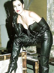 Leather, Mature leather, Milf mature, Milf leather