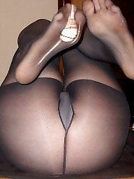 Dildo, Mature stockings, Mature stocking, Tight, Tights, Work