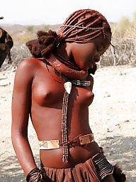 African, Ebony tits